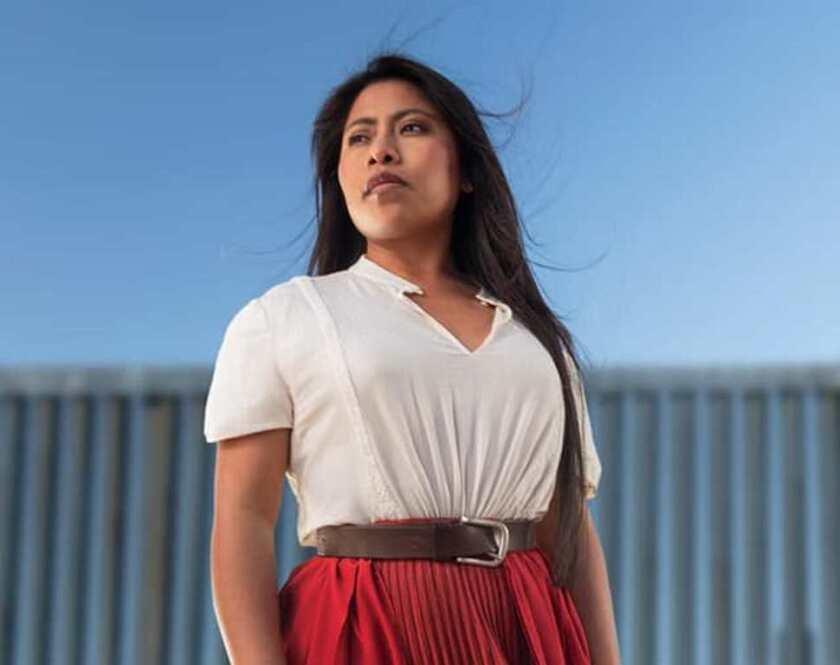 """La mexicana Yalitza Aparicio se ha visto expuesta a toda clase de comentarios desde que empezó a destacar por su participación en la película """"Roma""""."""