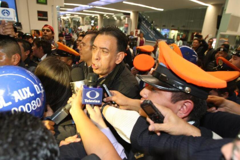 El expresidente del mexicano Partido Revolucionario Institucional (PRI) Humberto Moreira, en una imagen de 2016, tras su detención en España. EFE/Archivo