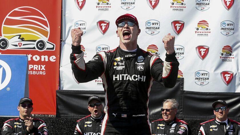Josef Newgarden wins IndyCar's Grand Prix of St. Petersburg
