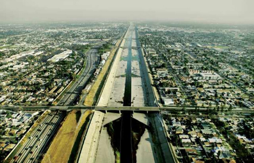 """ROLL ON: The Los Angeles River, a conspicuous landmark of """"The Infrastructural City."""""""