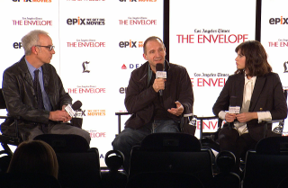 'The Invisible Woman' panel with moderator Glenn Whipp
