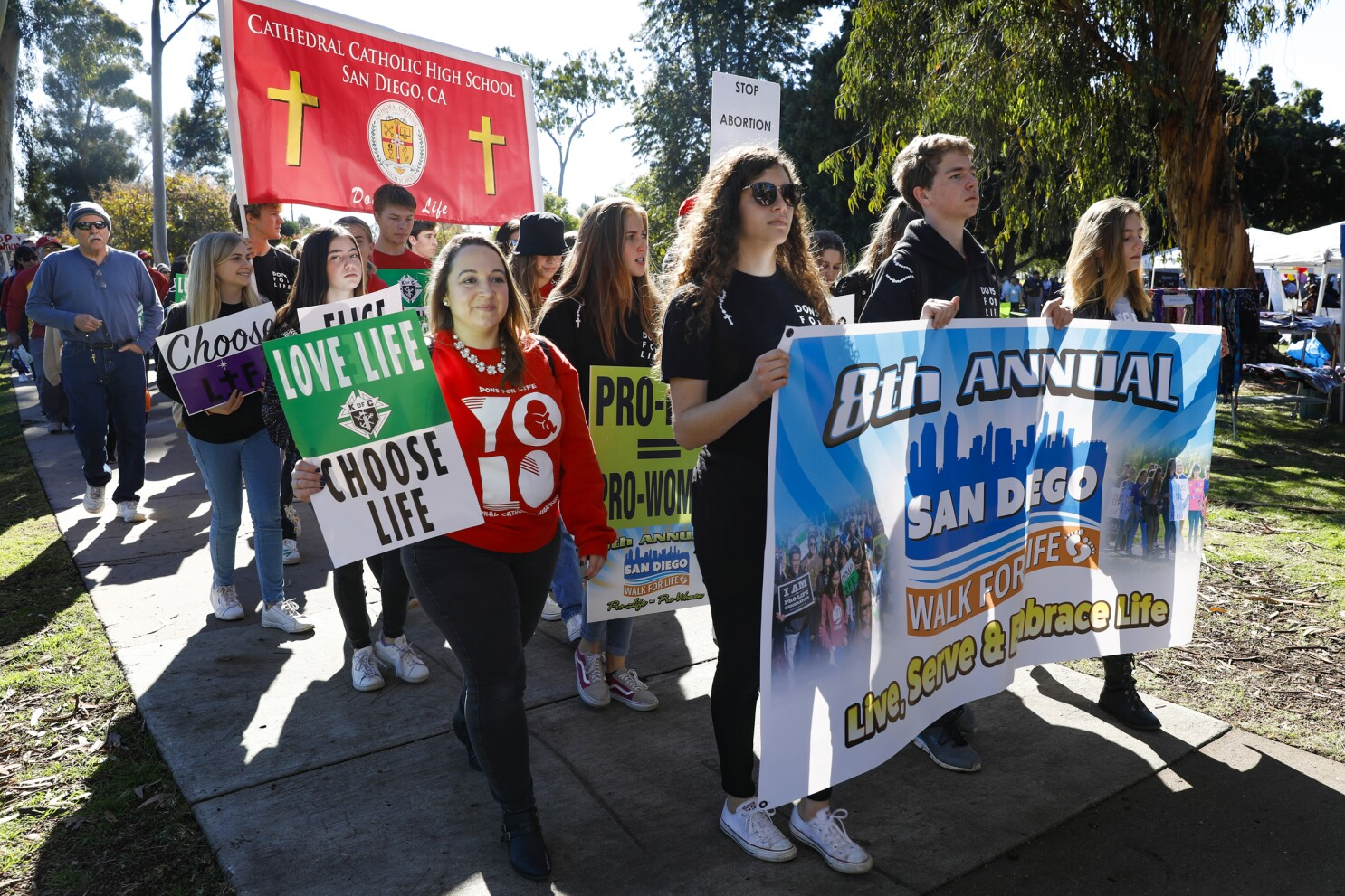 Abortion opponents celebrate 'the beauty and the gift of life' at 8th Annual Walk for Life