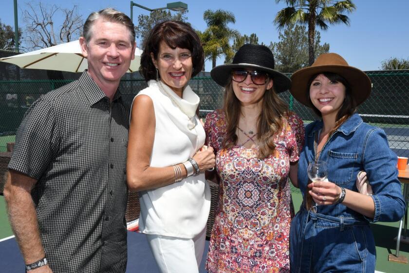 Mike and Kari Perry, Melissa Grove, Christina Mraz