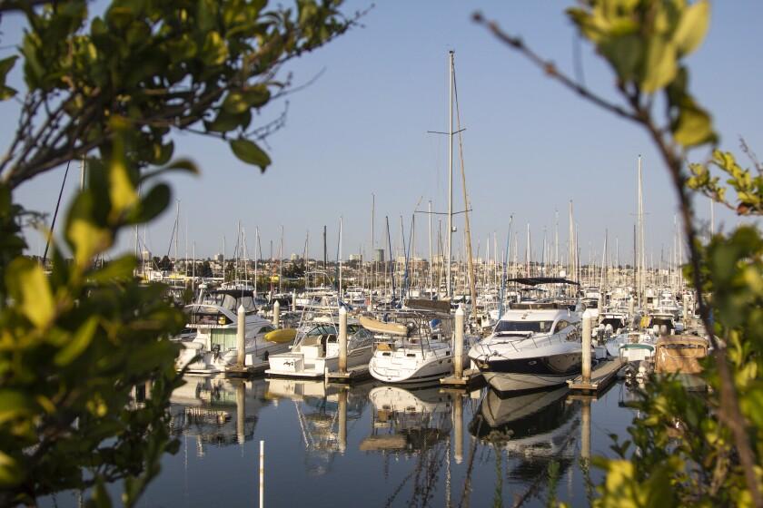 Sunroad Resort Marina in San Diego.