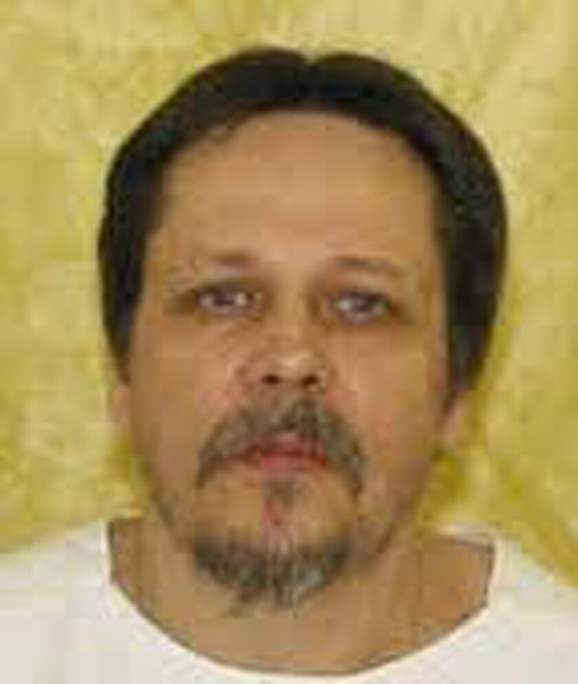 This undated handout photo courtesy of the Ohio Department of Rehabilitation and Correction shows Dennis McGuire, who was executed Thursday.