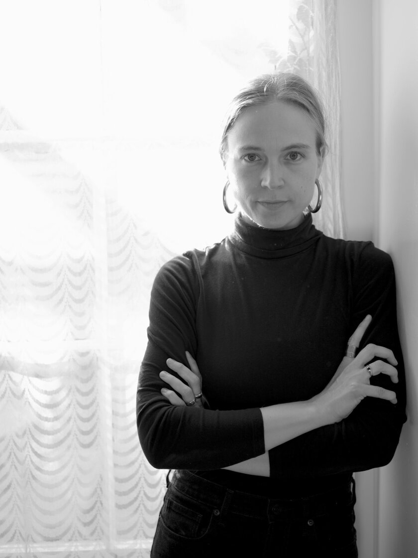 "An author photo of Kathryn Scanlan for her book ""Aug 9 - Fog."" Credit: Melanie Schiff"