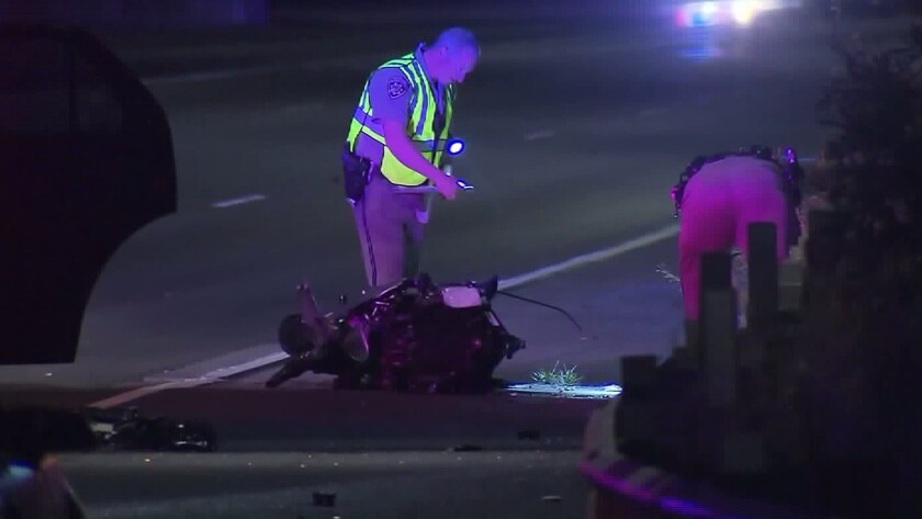 A fatal crash forced the closure of the northbound lanes on the 710 Freeway.