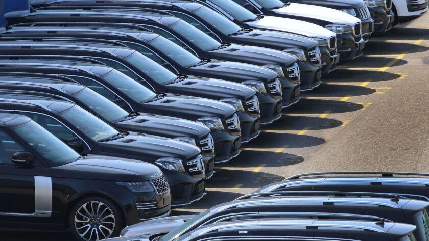 Trump threatens tariffs on EU car imports, Bremerhaven, Germany - 15 Jun 2018
