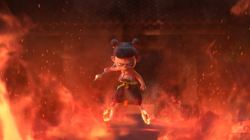 """In """"Ne Zha,"""" the beloved mythological character comes to gorgeously animated life"""