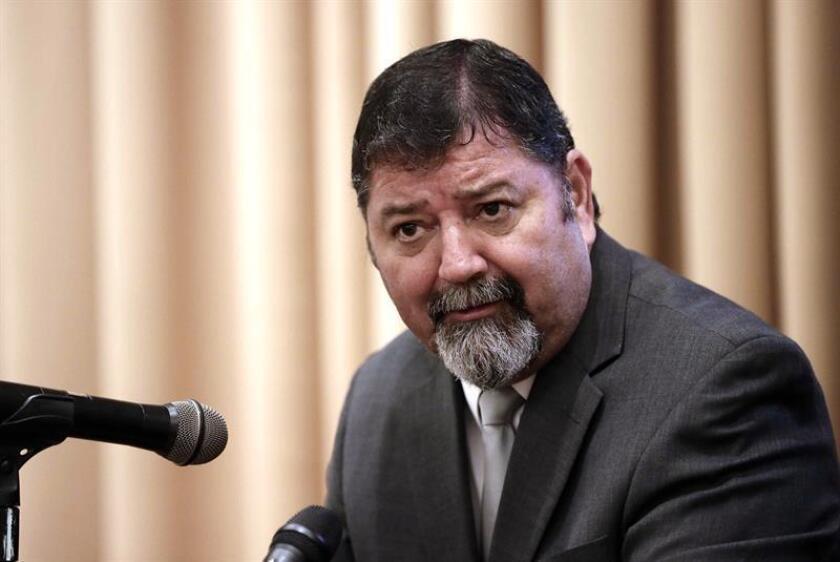 En la imagen, el ministro costarricense de Seguridad, Gustavo Mata. EFE/Archivo