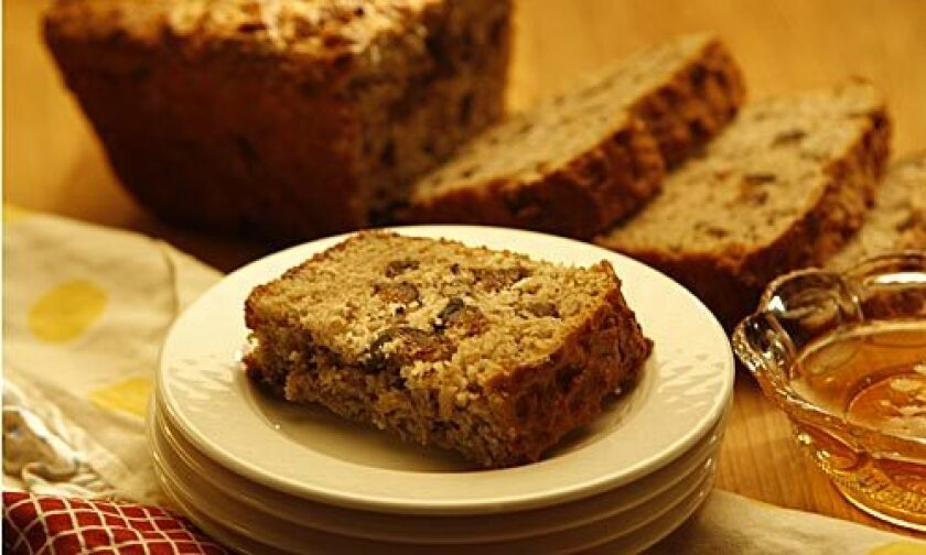 Spicy fig loaf