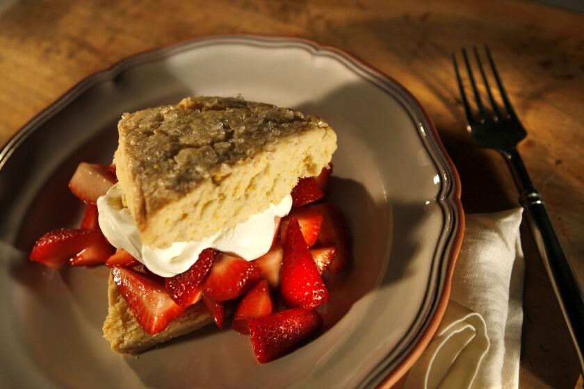 A classic: Strawberry shortcake