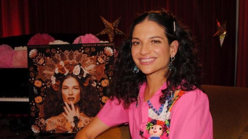 La cantante española Natalia Jiménez posa durante una entrevista este viernes, 9 de agosto de 2019, en Miami.