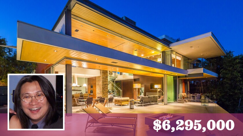 Chinese filmmaker Peter Chan bought the contemporary-style residence in Hollywood Hills West last year for $5.235 million.