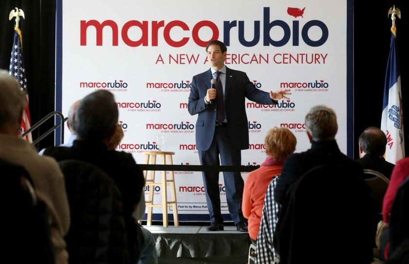 Marco Rubio in Iowa