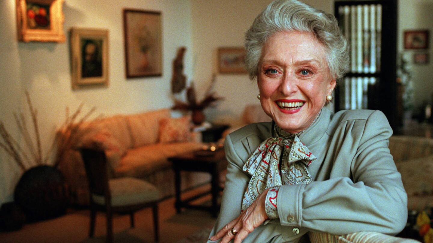 """In a career that spanned more than half a century, Celeste Holm played such varied roles as Ado Annie, """"The girl who just can't say no"""" in """"Oklahoma!,"""" a worldly theatrical agent in the 1991 comedy """"I Hate Hamlet,"""" guest star turns on TV shows including """"Fantasy Island"""" and """"The Love Boat,"""" and Bette Davis' best friend in the film """"All About Eve."""""""