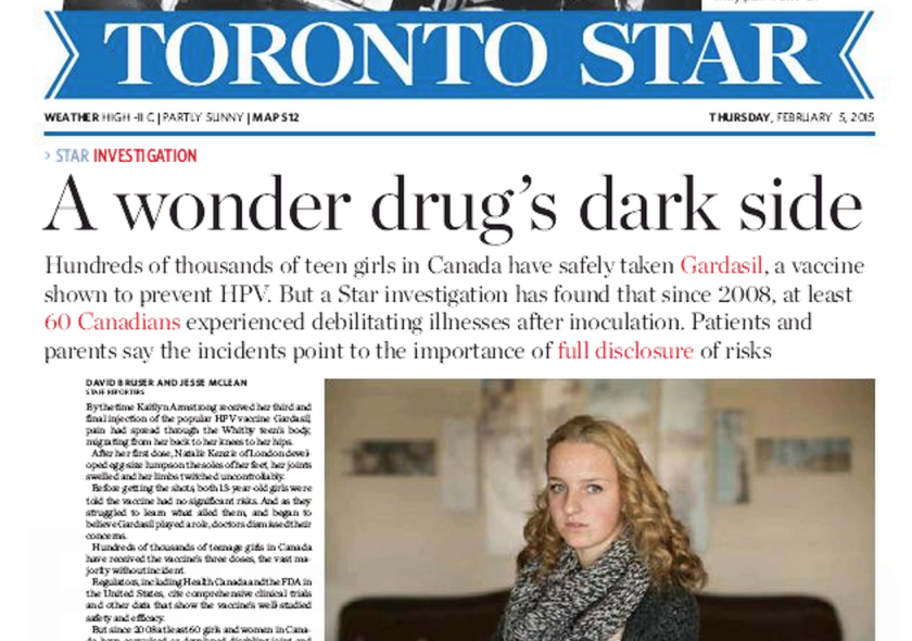 More than a week after running this headline, the Toronto Star acknowledged it was wrong. But has the damage been done?