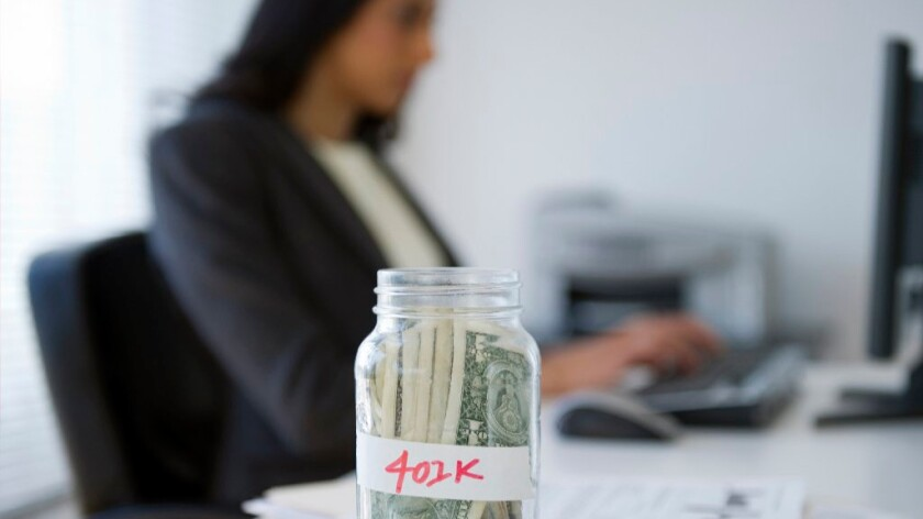 Borrowing from your 401(k) is seldom a good idea because taking money out of the account depresses your returns.