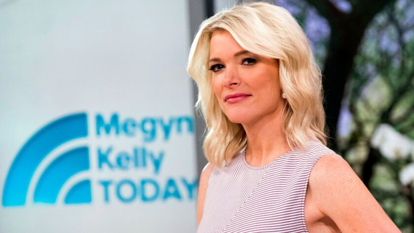 """Megyn Kelly on the set of her new show, """"Megyn Kelly Today,"""" at NBC Studios on Sept. 21 in New York."""