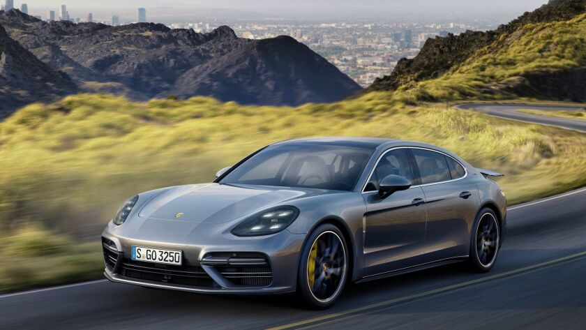 L A Auto Show 2016 Porsche S Panamera Hybrid Los Angeles Times