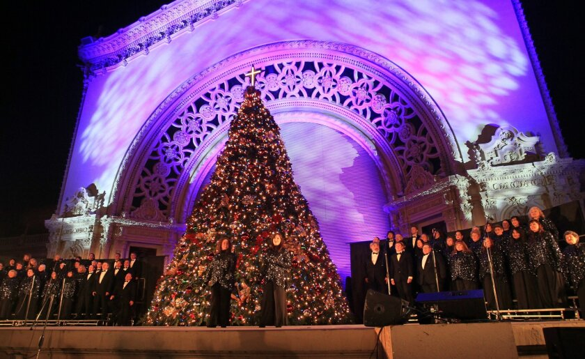 Balboa Park Christmas Lights 2020 13 things to do in San Diego this weekend: December Nights, Lee