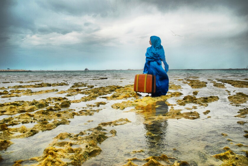 """""""The Last Look,"""" by Lateefa bint Maktoum speaks to spirit of experimentation in the rapidly changing United Arab Emirates."""
