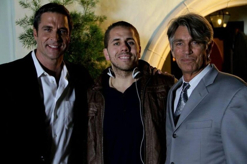 Ben Reed, Chase Mohseni and Eric Roberts