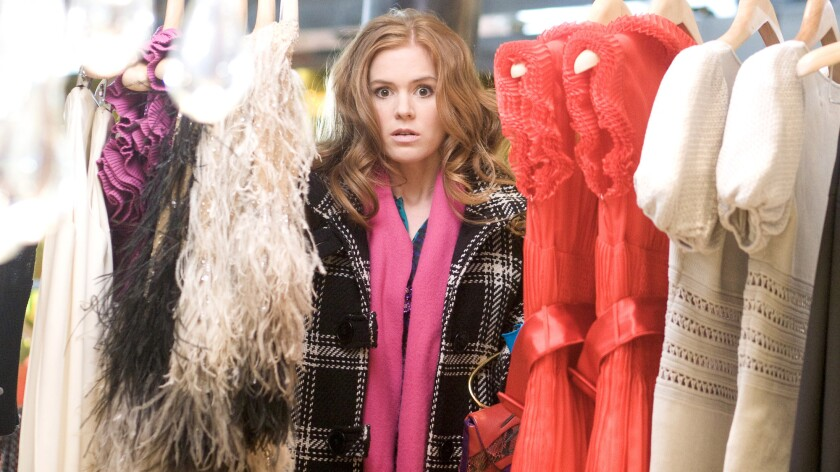 """Isla Fisher in the movie """"Confessions of a Shopaholic."""""""