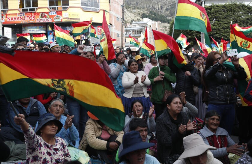 Bolivia Elections Protest