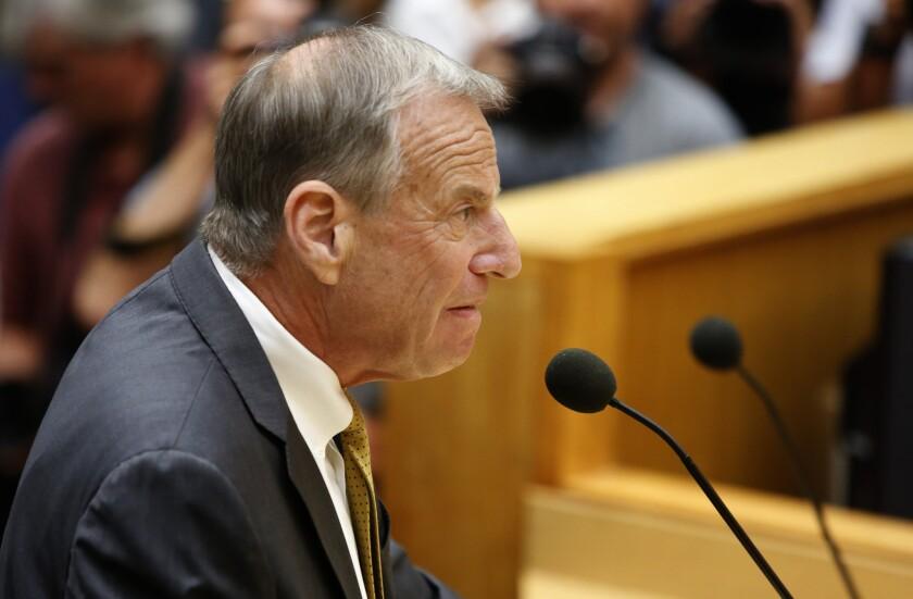 Ruling blocks suit against San Diego ex-Mayor Bob Filner