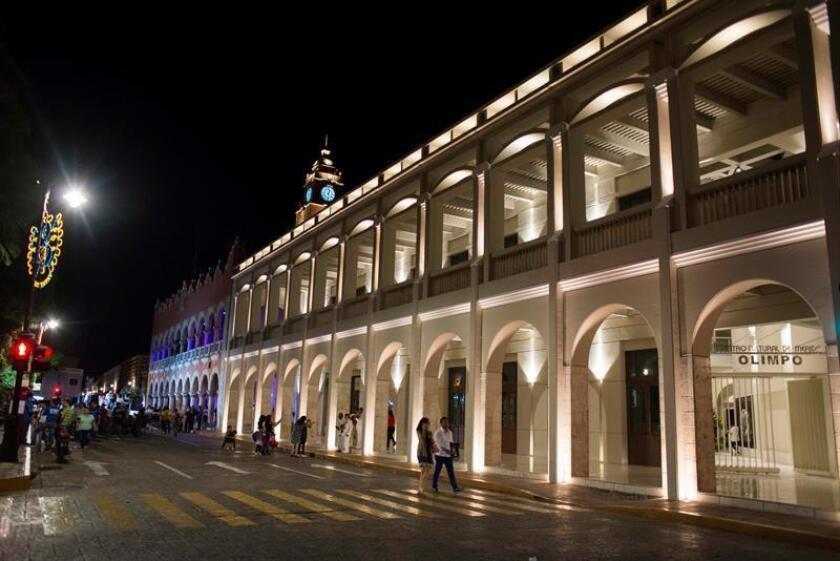 Vista general de la ciudad de Mérida, del estado mexicano de Yucatán, el viernes 6 de enero de 2017, en el marco del inicio de los festejos por haber sido nombrada la Capital Americana de la Cultura 2017. EFE/Archivo
