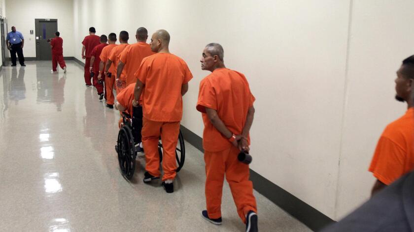 Centro de detención Adelanto en California.