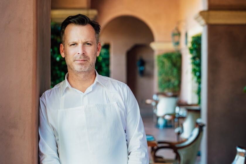 William Bradley, chef/director at Addison restaurant in San Diego's Carmel Valley.
