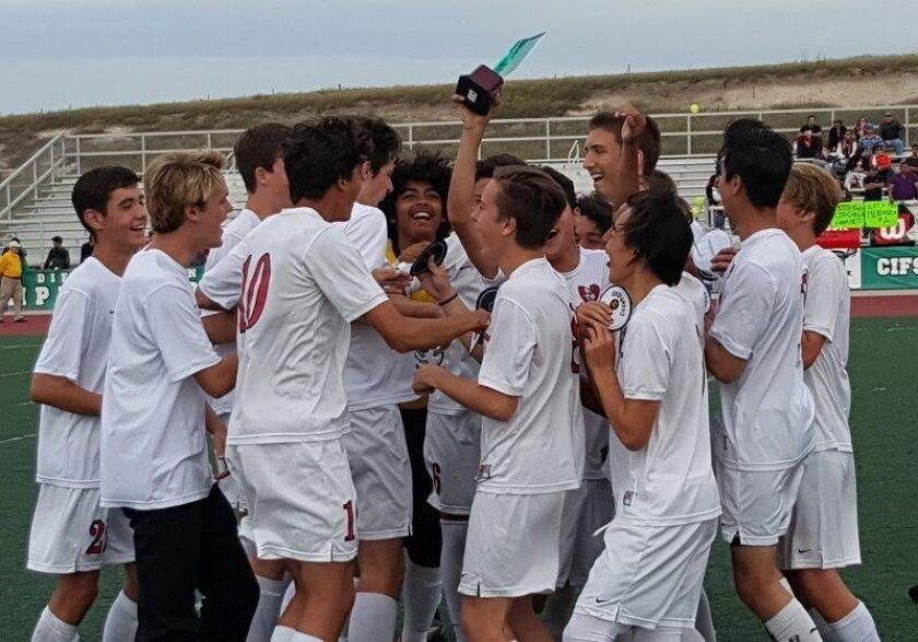 La Jolla High School celebrates its first CIF victory in 18 years!