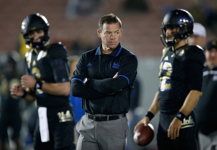 UCLA football frustrations rise with penalty issue that hasn't resolved