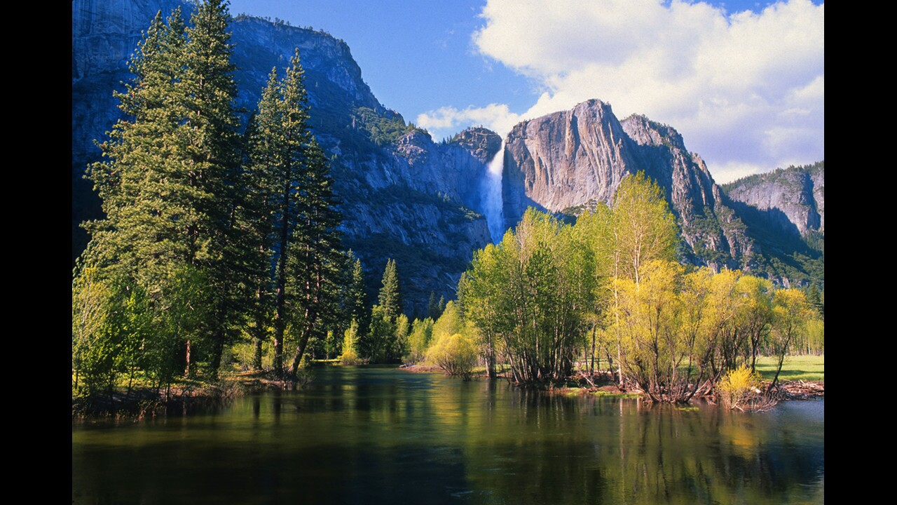 Pursue a golden state in the Golden State. Some ideas: Adventure travel company Mountain Travel Sobek offers a strenuous 13-day hike along the John Muir Trail in Yosemite National Park (the park's Yosemite Falls and Merced River are pictured). Prices vary. Or consider Esalen Institute in Big Sur, the new Miraval Life in Balance Spa at Monarch Beach Resort in Dana Point or the Art Seekers programs at Ventana resort in Big Sur.