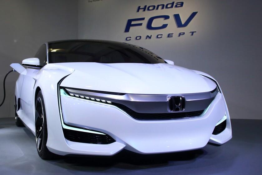 Honda Motor Co. unveils FCV Concept fuel cell vehicle