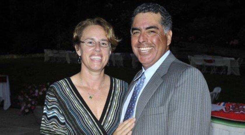 Founders Amelia and Eduardo I. Sanchez (Photo: Rob McKenzie)