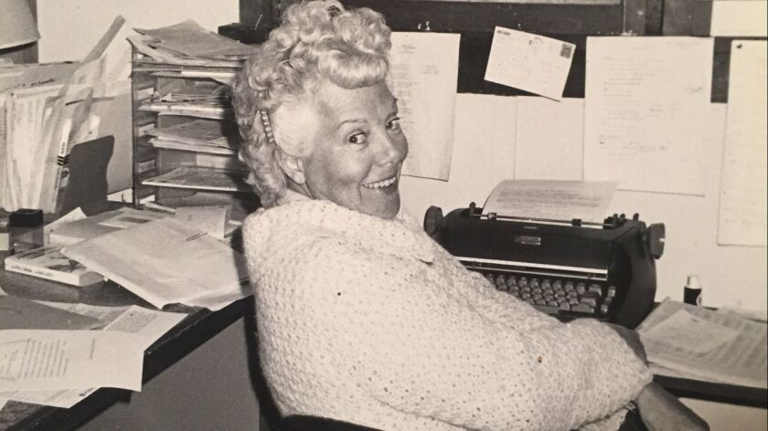 Betty Ballantine, half of a groundbreaking husband-and-wife publishing team that helped invent the modern paperback, shown in 1980.