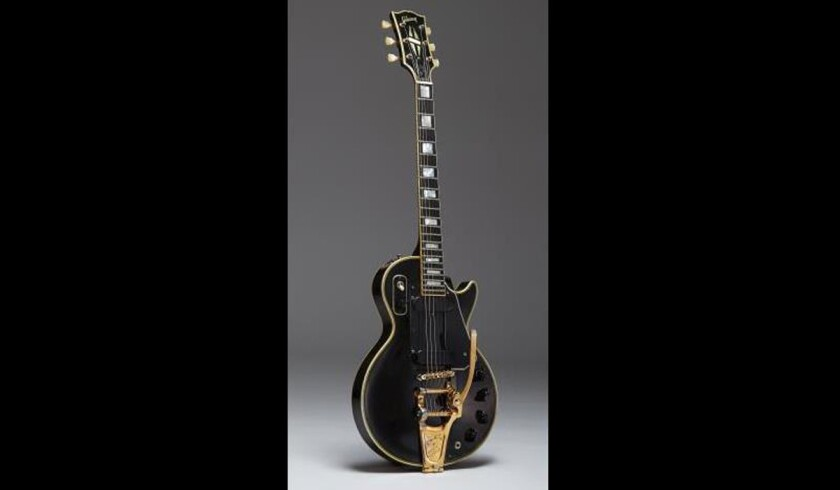 The original prototype of the Gibson Les Paul solid body electric guitar will go up for auction on Feb. 19 in New York.