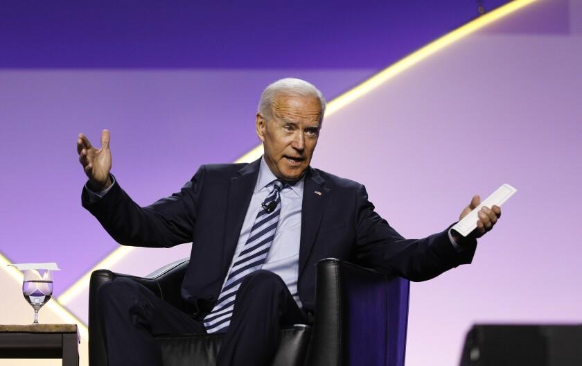 Joe Biden at NAACP convention