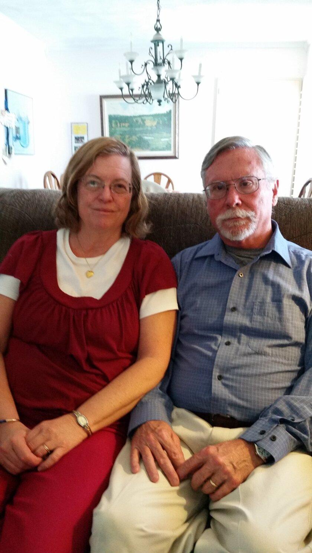 Arlene and Bob Holmes