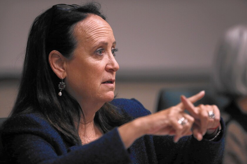 Felicia Marcus, State Water Resources Control Board chief
