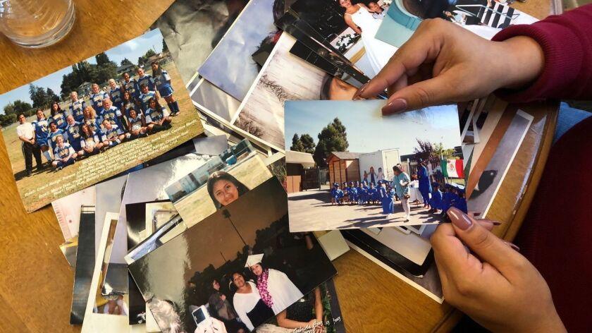 Gabriela Cruz family photos