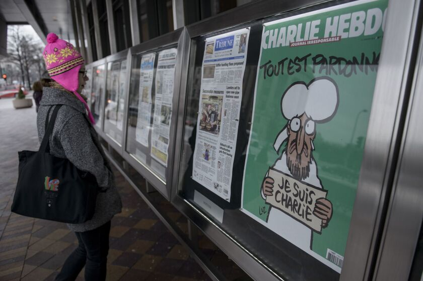 French satirical newspaper Charlie Hebdo is set to receive a PEN award on Tuesday.