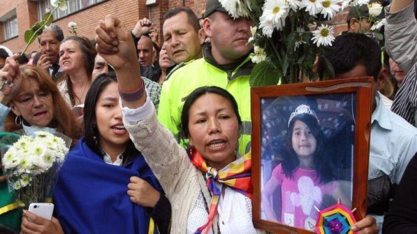 Las autoridades colombianas hallaron muerto al vigilante que trabajaba en el edificio donde se encontró el cuerpo sin vida de la niña Yuliana Samboní el pasado domingo.