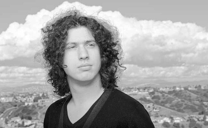 Nine Inch Nails' drummer Ilan Rubin, a San Diego multi-instrumentalist.