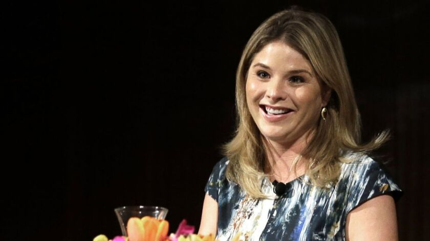 Jenna Bush Hager participates in the Enduring Legacies of America's First Ladies conference in Austin, Texas.