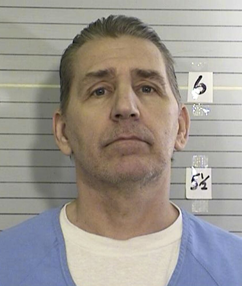 This April 9, 2013 photo provided by the California Department of Corrections and Rehabilitation shows William Richards. Richards was convicted for the 1993 murder of his wife Pamela following expert testimony that a bite mark on his wife's hand matched his unusual tooth pattern. His attorneys are