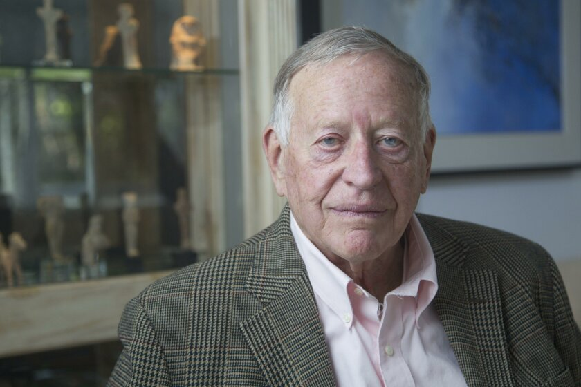 Gough Thompson contends he was illegally forced out of his share of a partnership promoting the Rosarito Beach desalination project.
